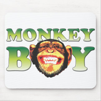 Monkey Boy Mouse Mat