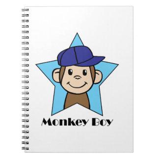 Monkey Boy Spiral Notebook