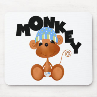MONKEY Boy Tshirts and Gifts Mousepads