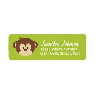 Monkey Business Address Labels