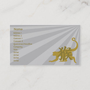 Monkey business cards business card printing zazzle uk monkey business business card reheart Choice Image