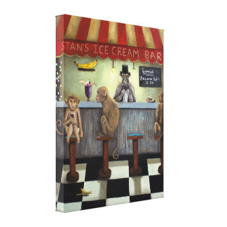 Monkey Business Gallery Wrap Canvas