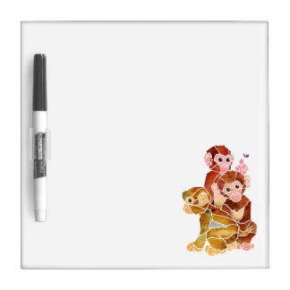"""Monkey Business"" Dry Erase Board"