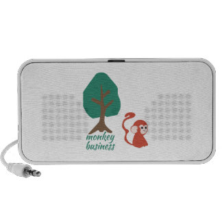 Monkey Business Portable Speakers