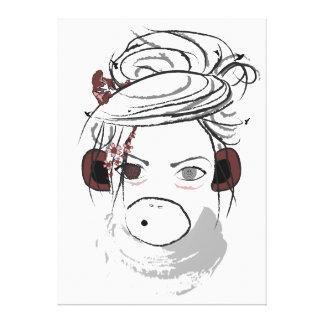 monkey. canvas print
