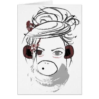 monkey. card