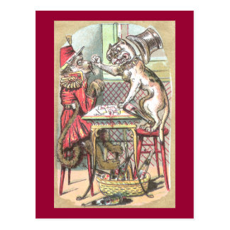 Monkey Card Cheat Says Bulldog Post Cards