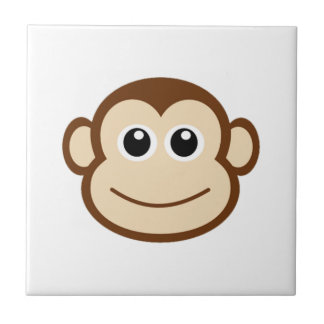 Monkey Cartoon Tile