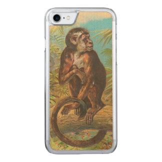 Monkey Carved iPhone 8/7 Case