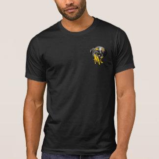 Monkey Cat Distressed Tee Shirt
