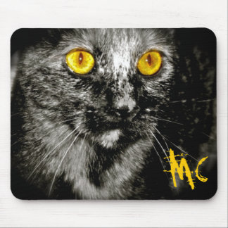 Monkey Cat Mouse Pad Full Frame