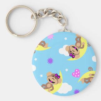 monkey  celestial key ring