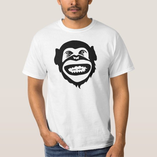 Monkey chimpanzee smile T-Shirt