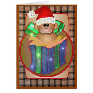 Monkey Christmas Cards