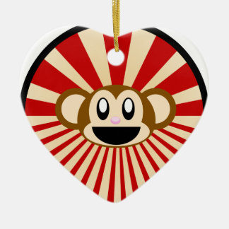Monkey! Christmas Ornament