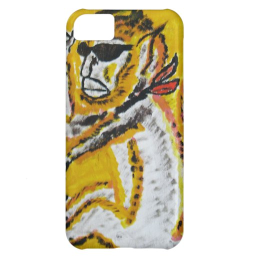 Monkey Circus Art Case For iPhone 5C