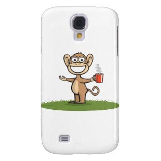Monkey Coffee Samsung Galaxy S4 Case