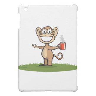 Monkey Coffee iPad Mini Cases