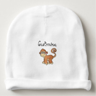 Monkey Collection Baby Beanie