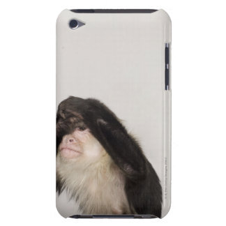 Monkey covering its eyes iPod touch Case-Mate case