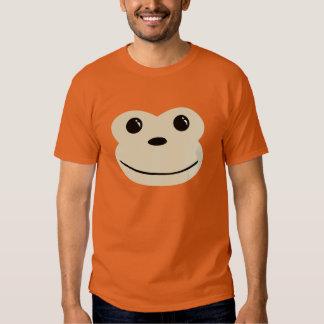 Monkey Cute Animal Face Design Shirts