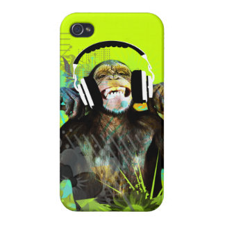 Monkey DJ Iphone Cover iPhone 4/4S Cover