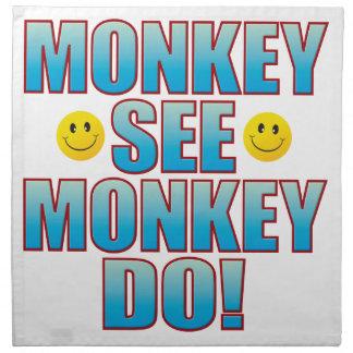Monkey Do Life B Napkin