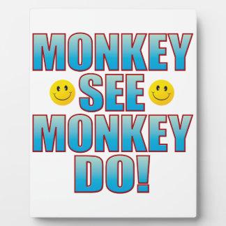 Monkey Do Life B Plaque