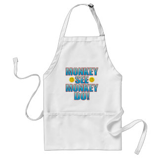 Monkey Do Life B Standard Apron