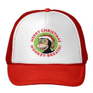 Monkey Elf Christmas Cap