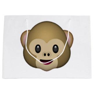 Monkey - Emoji Large Gift Bag