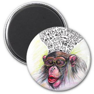 Monkey explosion. Woman Magnet
