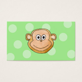 Monkey Face. Business Card