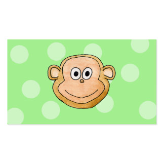Monkey Face Business Card Templates