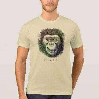 Monkey Face etching T-shiRT