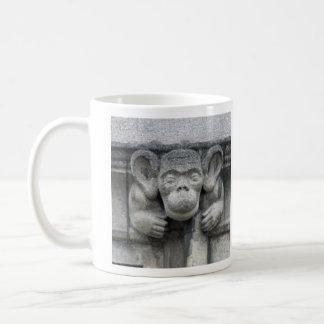 Monkey-face gargoyle mug