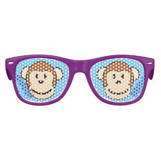 Monkey Face Kids Sunglasses