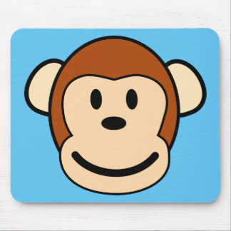 Monkey Face Mousepad
