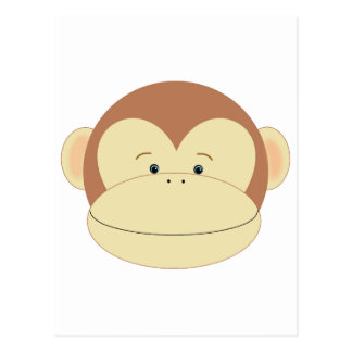 Monkey Face Postcard