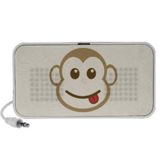 Monkey Face Vector Art PC Speakers