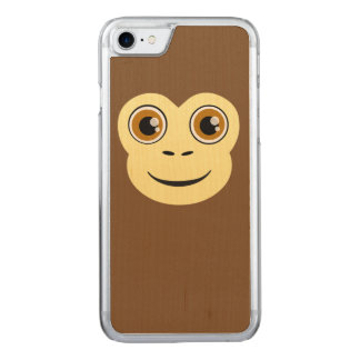 Monkey Faced Carved iPhone 7 Case