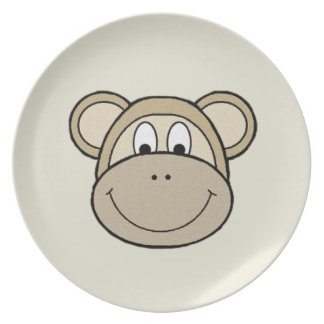 Monkey Faces Plate