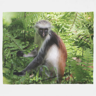 Monkey Fleece Blanket