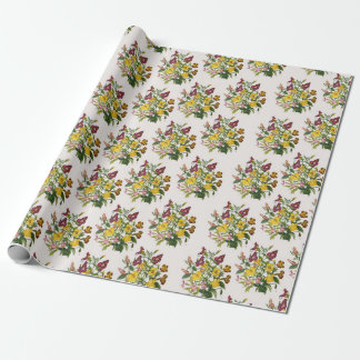 Monkey-flowers Wrapping Paper