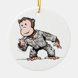 Monkey for your tree christmas ornament