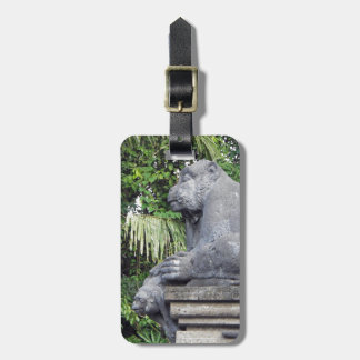 Monkey Forest Luggage Tag