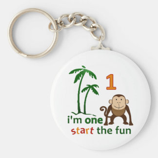Monkey Fun One Keychains