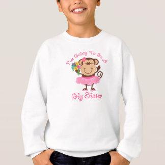 Monkey Future Big Sister Sweatshirt
