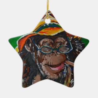 Monkey -Gentleman Christmas Ornament