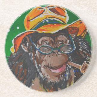 Monkey -Gentleman Coaster